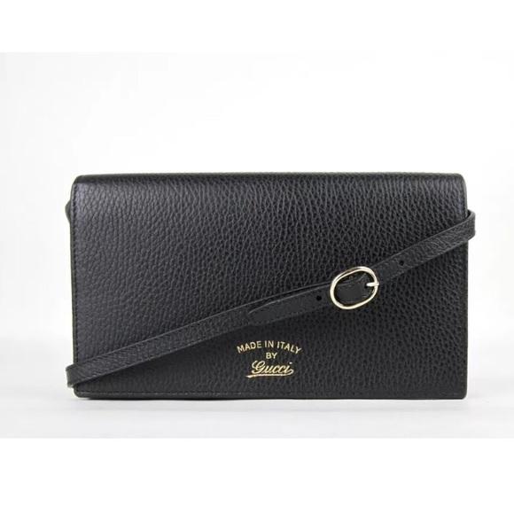 23f22c8e6ad313 Gucci Bags | Wallet On A Strap | Poshmark